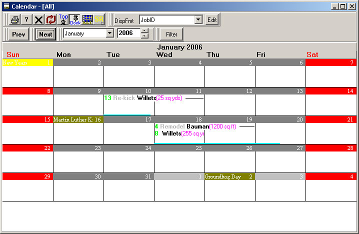 What's New in WinSched 3.1
